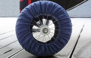 kolofogo-Transportverkleidung für die Räder