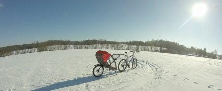 Napravuje bikery i vozíky za kolo